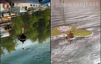 Fishing float live wallpaper l