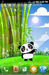 panda pet live wallpaper free