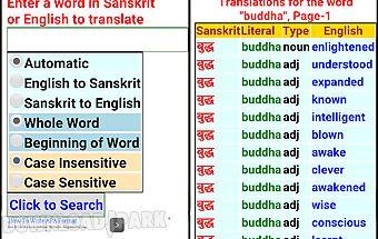 Sanskrit dictionary free