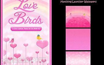♥ cute birds love theme sms♥