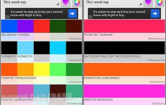 Colorful backgrounds - colors