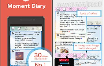 Moment diary