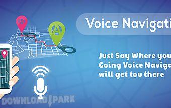 Voice gps navigation & map
