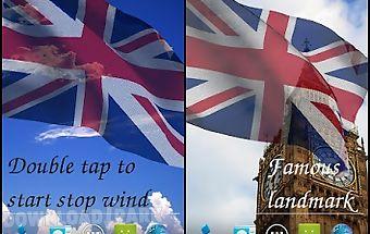 3d uk flag live wallpaper