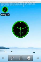 Analog clock-7 mobile Android App free download in Apk