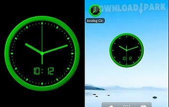 Analog clock-7 mobile