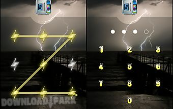 Applock theme thunder