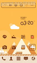 carameltown line launchertheme