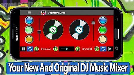 Original dj mixer Android App free download in Apk