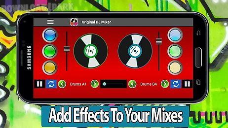 original dj mixer