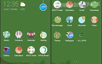 Rio-apus launcher theme