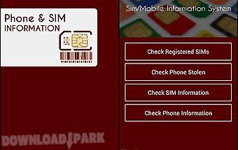 Pakistan sim information
