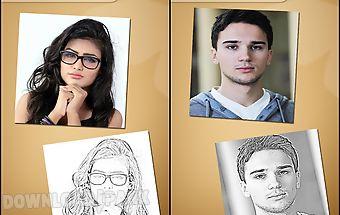 Pencil sketch photo maker