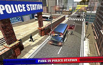 Police bus cop transport