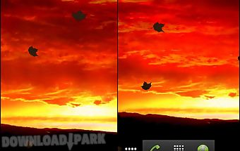 Redsky live wallpaper free