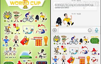 Go sms pro soccer sticker