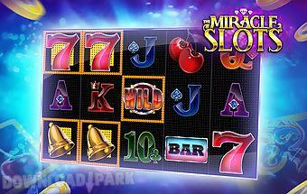 Miracle slots & casino free