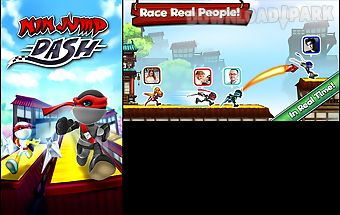 Ninjump dash: multiplayer race