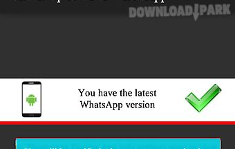Update for whatsapp