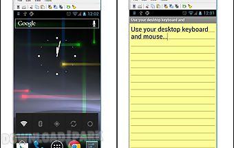 Wifi keyboard+screen capture