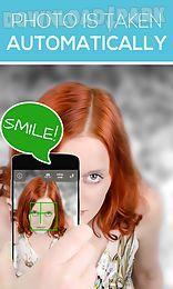 back camera selfie: voice guide
