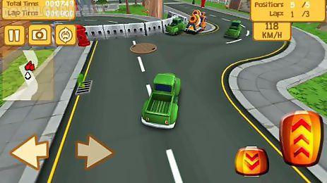 cartoon race 3d: car driver