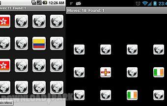 Countries memory app