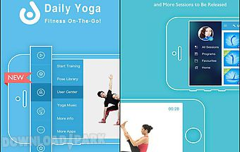 Daily yoga fitness on-the-go