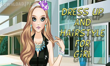 dress up and hairstyle for girl