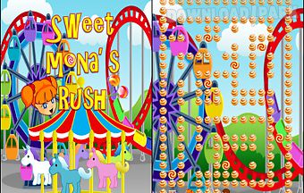 Mona sweet candy rush game free