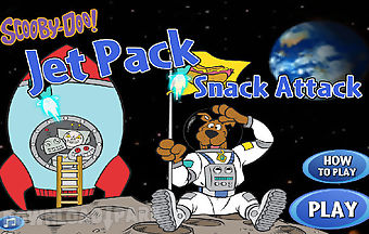 Scooby doo jet pack snack attack