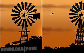 Windmill by pix live wallpapers