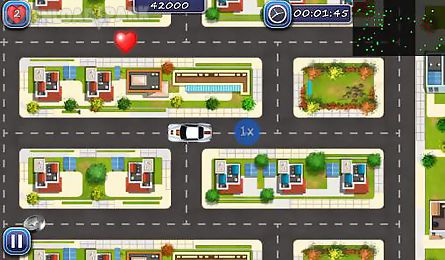 car race: police chase. escape mania
