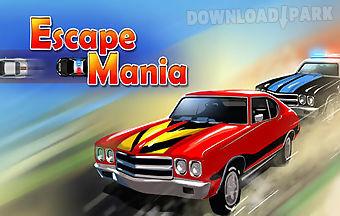 Car race: police chase. escape m..