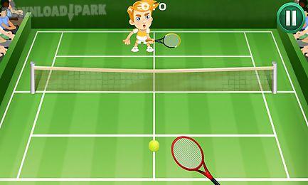 court tennis play
