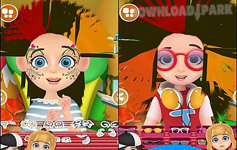 Kids hair salon - kids game