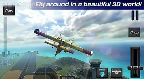 Real pilot flight simulator 3d Android Juego gratis