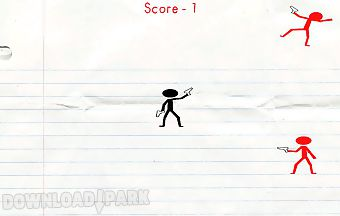 Stickmen war in the notebook