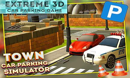 town car parking simulator 3d