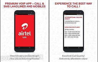 Airtel talk: global voip calls