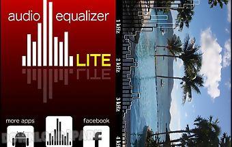 Audio equalizer lite