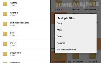 Helios file manager