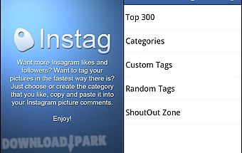 Instag - instagram tags
