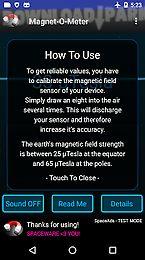 Magnet-o-meter metal detector Android App free download in Apk