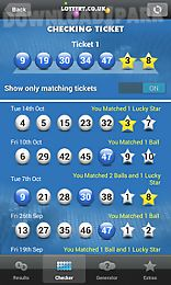 National lottery results Android App free download in Apk