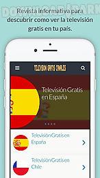 televisión gratis canales