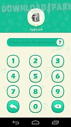 applock theme green