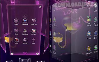 B.s.love next launcher theme