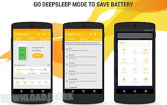 Deep sleep battery saver