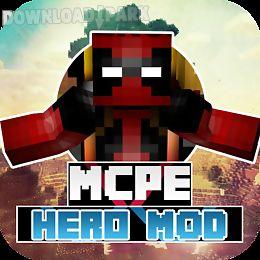 more+ hero mod for mcpe